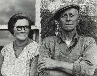 Paul Strand, 'Couple, South Uist', 1954
