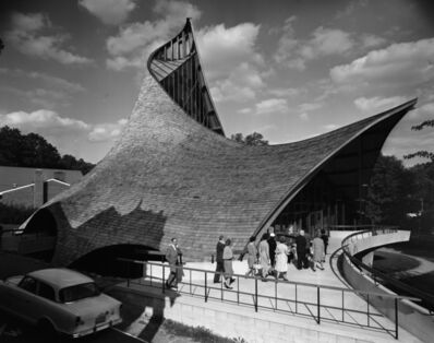 Pedro E. Guerrero, 'United Church of Rowayton, Rowayton, Connecticut (Joseph P. Salerno, Architect)', 1962