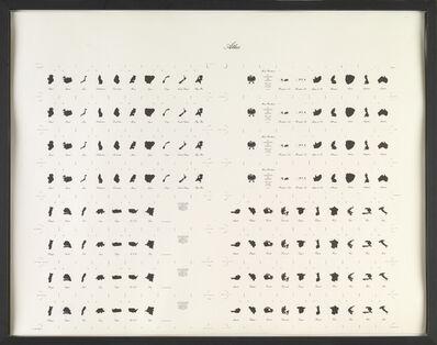 Marcel Broodthaers, 'LA CONQUETE DE L'ESPACE. Atlas', 1975