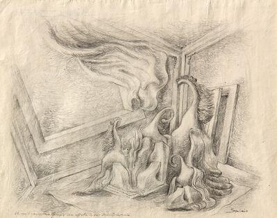Alberto Savinio, 'Centauri in una stanza', 1930