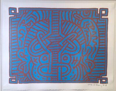 Keith Haring, 'Chocolate Buddha #1', 1989