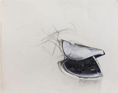 Jay DeFeo, 'Untitled (Shoe Tree) Larkspur', 1977