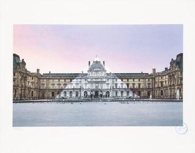 JR, 'Louvre', 2019