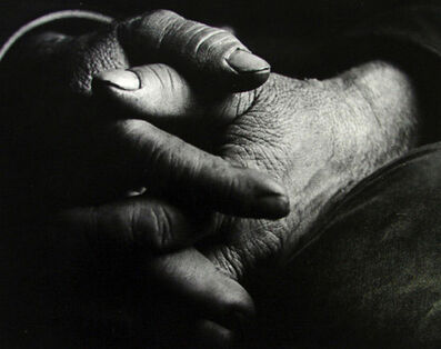 Jiri Hampl, 'Hand by Hand', 1950s