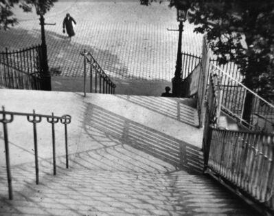 André Kertész, 'Stairs of Montmartre, Paris', 1925 (printed 1975)