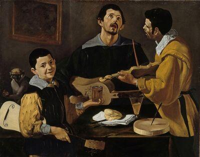 Diego Velázquez, 'Die drei Musikanten', 1616-1620