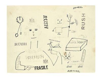 Saul Steinberg, 'untitled', 1955