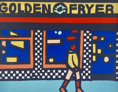 Emily Fromm, 'Golden Fryer', 2020