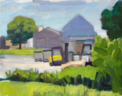 John Goodrich, 'Warehouse, Beal's Island', 2015