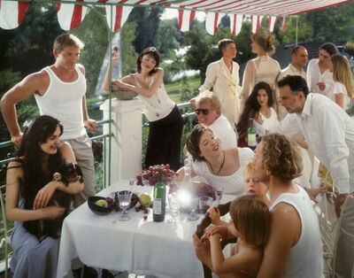 "Neil Folberg, 'After ""Luncheon of the Boating Party"" by Renoir', 2003"