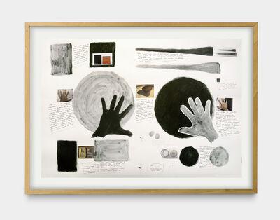 Milton Machado, 'Dois círculos (Warchavchik) [Two circles (Warchavchik)]', 2020