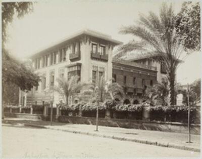Félix Bonfils, 'Ambassade de France au Caire', 1880