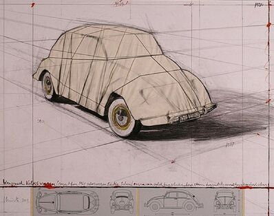 Christo, 'Wrapped Volkswagen', 2013