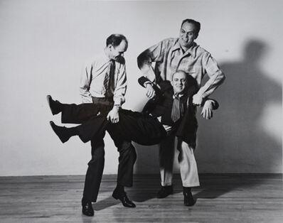Barbara Morgan, 'Beaumont Newhall, Ansel Adams & Willard Morgan', 1942