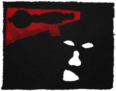 Antonio Dias, 'Speaking of guns', 1987