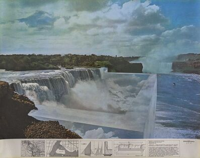 Superstudio, 'Niagara o l'architettura riflessa', 1970
