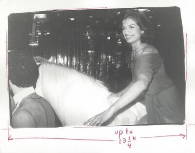 Andy Warhol, 'Bianca Jagger on Horseback, Studio 54', 1977
