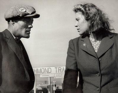 Dorothea Lange, 'Argument in a Trailer Court, Richmond, California', 1944