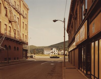 Stephen Shore, ''Holden Street, No. Adams, Mass. 7/13/74'', 1974