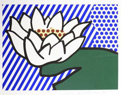 Roy Lichtenstein, 'Water Lily', 1993