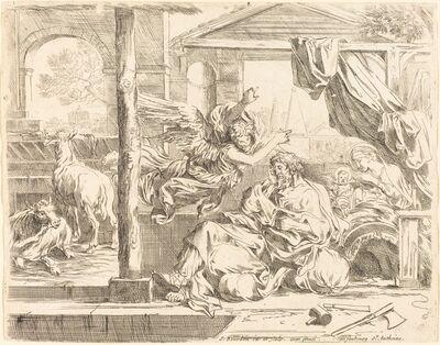 Sébastien Bourdon, 'Saint Joseph's Dream'