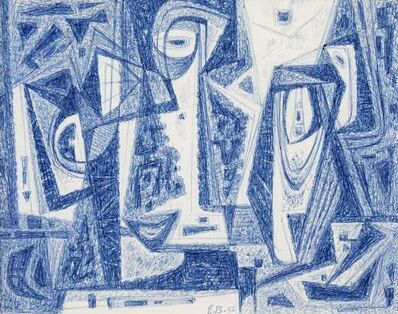 Emil Bisttram, 'Abstraction', 1956