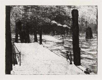 Emil Nolde, 'Hamburger Landungsbrücke', 1910