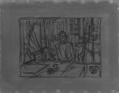 Alberto Giacometti, 'In The Cafe (Au café)', 1954