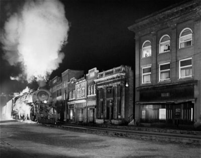 O. Winston Link, 'Main Line on Main Street, North Fork, West Virginia', 1958