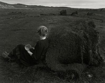 Agnieszka Sosnowska, 'Steinunn with Turf Rolls, Kleppjárnsstaðir, Iceland', 2015
