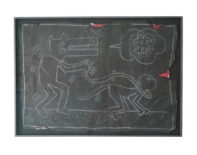 Keith Haring, 'Dog Walking Cat', 1980's-1990s