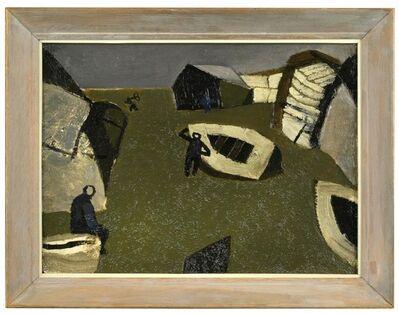 Keith Vaughan, 'Grey Shore Seascape', 1950