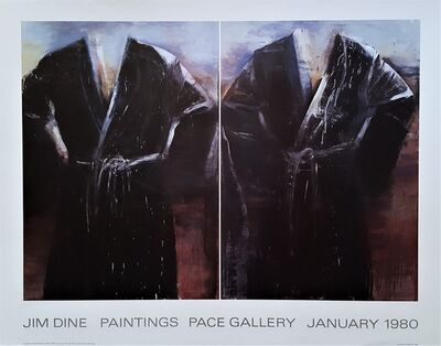 Jim Dine, 'Jim Dine Paintings: Pace Gallery', 1980