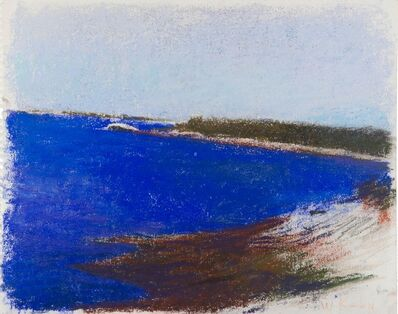 Wolf Kahn, 'The Densest Blue of Maine Water (De-accessioned from the Nevada Museum of Art)', 1998