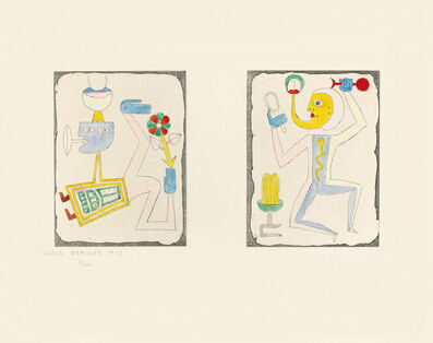 Victor Brauner, 'Untitled, from Brunidor Portfolio Number 2, 1947-1952', 1947