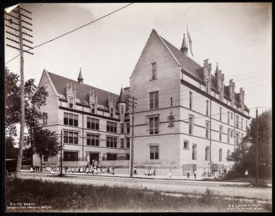Jacob A. Riis, 'Public School 175 in the Bronx, Jerome Avenue north of 184th Street', ca. 1900