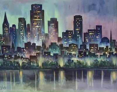 Charles De Carlo, 'Skyline', Mid 20th c.