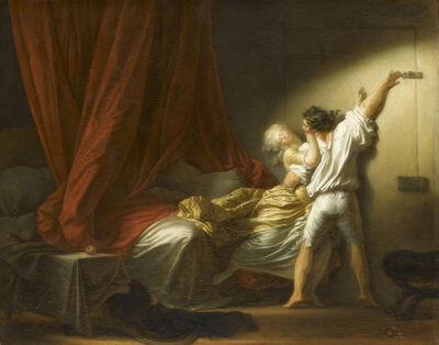 Jean-Honoré Fragonard, 'The Bolt', 1777-1778