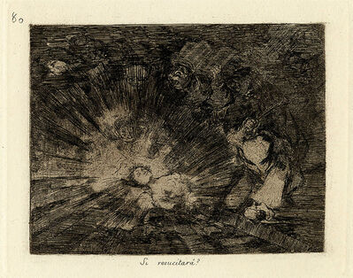 Francisco de Goya, 'Si Resucitarà', 1863