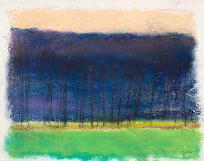 Wolf Kahn, 'Black Trees', 2016