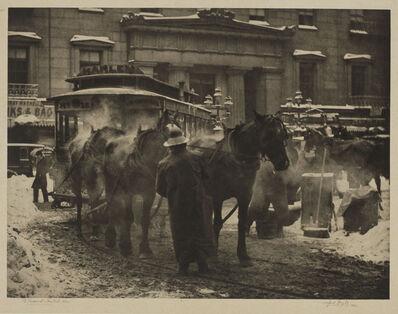 Alfred Stieglitz, 'The Terminal, New York', 1893
