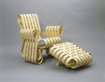 Frank Gehry, 'Power Play Armchair', 1991