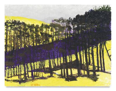 Wolf Kahn, 'Slope', 2015