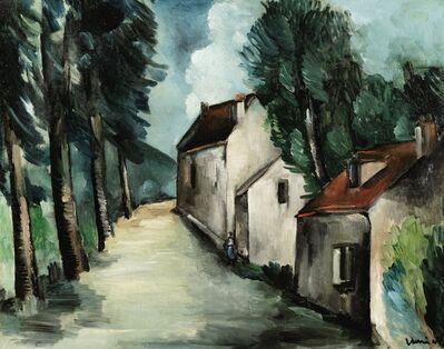 Maurice de Vlaminck, 'Rue de village', 1912