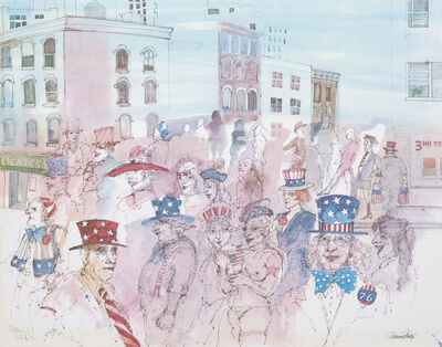 Marcia Marx, '4th of July', 1976