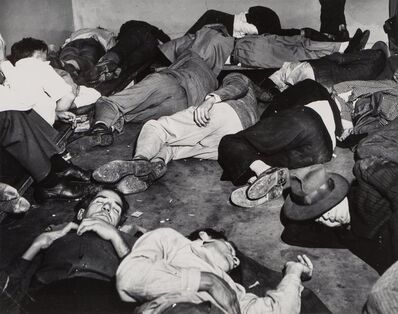 Weegee, 'Drunk Tank', circa 1950