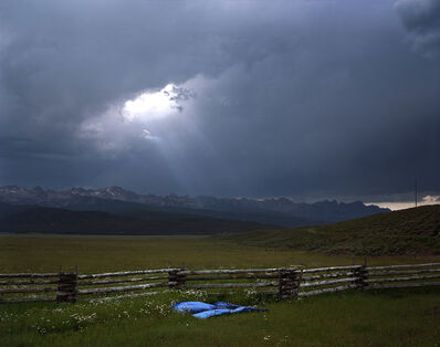 Laura McPhee, 'Blue Tarp, Sawtooth Mountains, Custer County, Idaho, 2004 1/5'