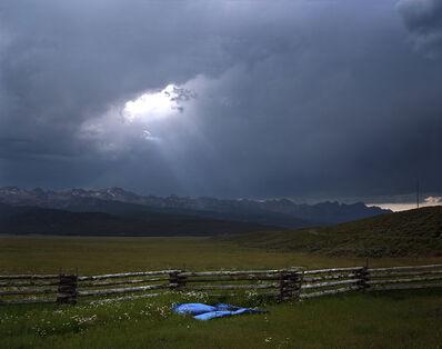 Laura McPhee, 'Blue Tarp, Sawtooth Mountains, Custer County, Idaho, 2004 1/5'
