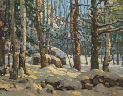 John C. Traynor, 'Forest in Winter', 2001