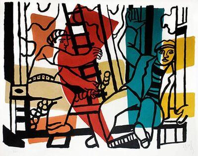 Fernand Léger, 'Les Constructeurs (The Builders)', 1955